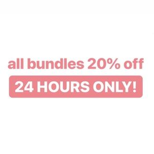20% OFF BUNDLES OF 2 or More Items
